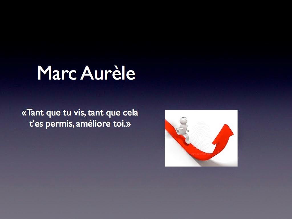 Améliore-toi  –  Marc Aurele